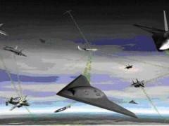 无人机到底有多强?四驾无人机歼灭八驾f-22猛禽战斗机
